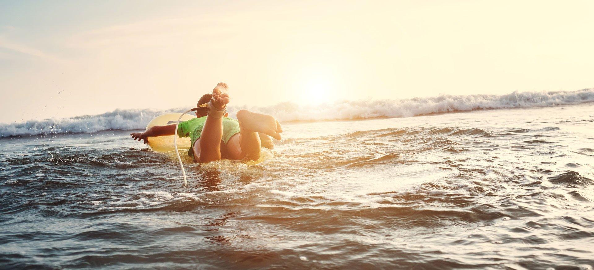 Profiter du soleil pendant la colonie de vacances en été